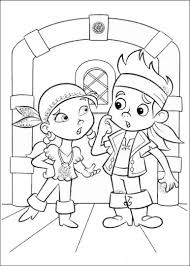 Small Picture Jake And The Neverland Pirates Coloring Pages Part 5