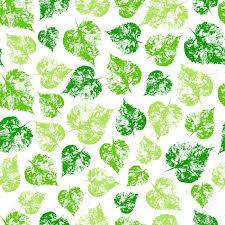 Naadloos Patroon Kruiden Zomer Groen Hand Getekende Blad Textuur