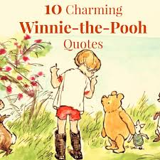 10 Charming Winnie The Pooh Quotes Tales Of A Bookworm