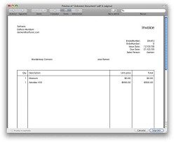 Free Invoice Template For Mac Pages How Do I Create An Invoice In