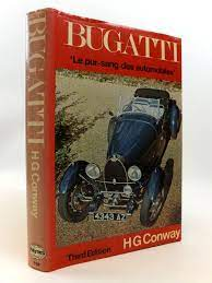 His wife eva bore him two sons, micahel and hugh and they remained married until her death in 1980. Stella Rose S Books Bugatti Le Pur Sang Des Automobiles Written By H G Conway Stock Code 1812516