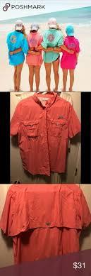 Details About Lot Of 3 Columbia Pfg Mens Size Xl Vented Long