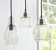 eclectic hand blown glass pendant lights the forest co pertaining to within seeded designs 17