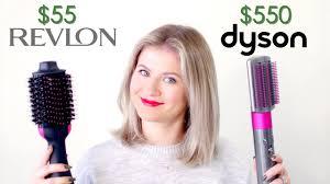 Dyson Airwrap vs Revlon One-Step <b>Hair</b> Dryer   Milabu - YouTube