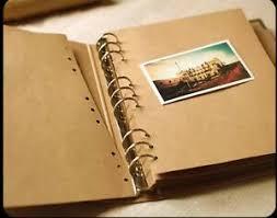 Photo Albulm Details About 9 Ring Binder Burlap Hessian Diy Scrapbook Sketchbook Book Album Wedding Party