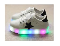 Baby Girl Shoes With Lights Amazon Com Children Shoes Led Light Kids Shoes With Light