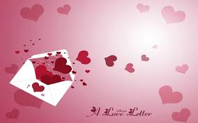 a love letter love cardessages