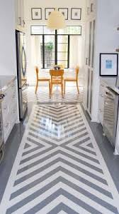 When you can't stand your floors but can't yet afford a huge project...    Home Decor Tips!   Pinterest   Painting laminate floors, House and Kitchens
