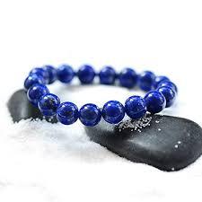Handmade Lapis Lazuli Bracelet - Gemstone Bracelet ... - Amazon.com