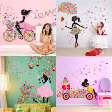 Small Picture Diy Beautiful Girl Home Decor Wall Sticker Flower Fairy Wall