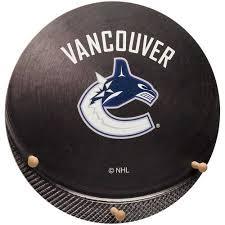 Coat Rack Vancouver Extraordinary NHL Vancouver Canucks Hockey Puck Coat Rack Walmart