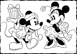 Mickey Mouse Halloween Printable Coloring Pages Minnie Pdf Free P