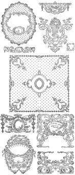 Decorative Borders For Word 200 Free Vintage Ornaments Frames And Borders Fab N Free