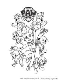 Small Picture paw patrol ryder and the dogs Coloring pages Printable