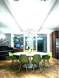 chandelier height above dining table room chandeliers standard di