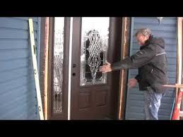 install front doorInstalling A New Entry Door  YouTube