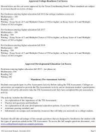 Tsi Score Chart Tsi Assessments Program Manual Combined Pdf Free Download