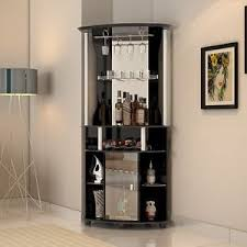 corner bar furniture. Image Is Loading Home-Bar-Furniture-Corner-Wine-Buffet-Cabinet-Living- Corner Bar Furniture B