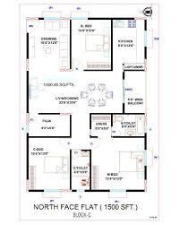 House Plan House Plan House Plan North Facing 2 Bedroom House