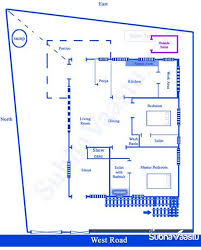 vastu west facing home plan