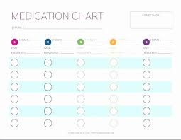 Medication Administration Record Template Medication Record Sheets New Blank Medication Administration Record