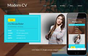 Sample Personal Website Templates Free Download Free Resume Websites