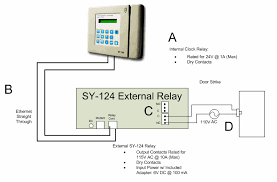 omega access control Door Strike Wiring Diagram this diagram depicts the proper wiring of the sy 124 external relay for use with an electronic door strike the sy 124 external relay is intended for those electric door strike diode wiring diagram