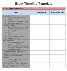 events timeline template 9 event timeline templates free sample example format download