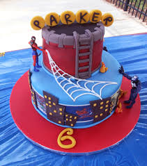 6th Birthday Spiderman Cake Cakecentralcom