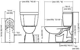 Floor Wall Mount Discharge Toilets Toilet Drain Rough In