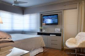 See more ideas about tv wall, home decor, home. 23 Ideas To Place The Tv In Your Bedroom Homify
