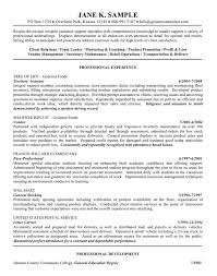 Resume Objective Examples For General Labor Resume Corner