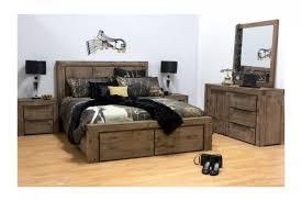 Cube 4 Piece Queen Bedroom Suite