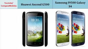 Huawei Ascend G500 comp. Samsung I9500 ...