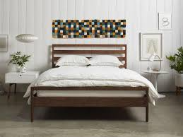above bed decor headboard king wall