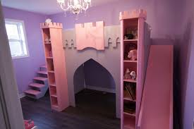 Princess Bedrooms For Girls Princess Bed With Stairs And Slide Beautiful Bunk Girls W Msexta