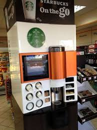Starbucks Vending Machine Business