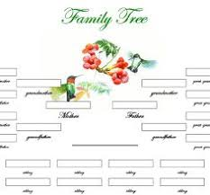 Making A Family Tree For Free Free Printable Family Charts New Printable Family Trees