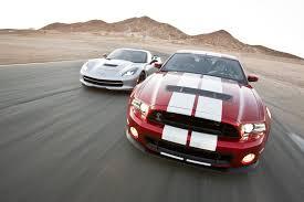 2014 Corvette Stingray vs Shelby GT500   Track Tested - YouTube
