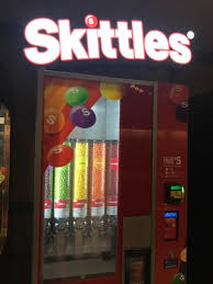 Skittles Vending Machine Inspiration Skittles Vending Machine Choose 48 Flavors For 48 Mildlyinteresting