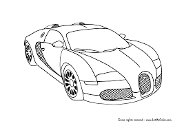 Bugatti Veyron Supercar Coloring Page Riot Pinterest