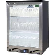 rhino glass froster 1 door fridge subzero temperatures