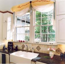 kitchen bay window curtains pure white kitchen flower arrangement