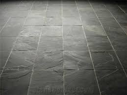 Floor Remarkable Black Slate Floor Tiles 0 Creative Black Slate