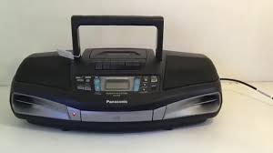 PANASONIC RX-DS28 Radio Cassette CD Player Boombox - YouTube