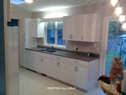 painted oak kitchen cabinets before and after. After. Painted Oak Kitchen Cabinets - Prince George, BC Canada Before And After E