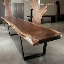 rotsen furniture single slab stainless steel. wood slab tables are a must rotsen furniture single stainless steel l