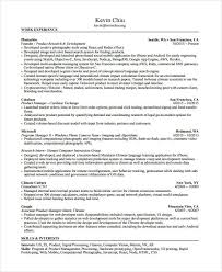 Product Manager Resume - 8+ Free Pdf Documents Download | Free