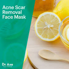 acne scar removal face mask dr axe