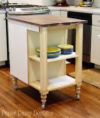 Wrap Around Kitchen Cabinets Diy Kitchen Island Cart